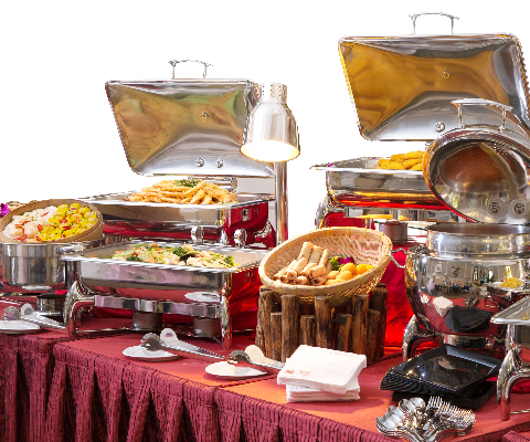 regular buffet - Garden Catering