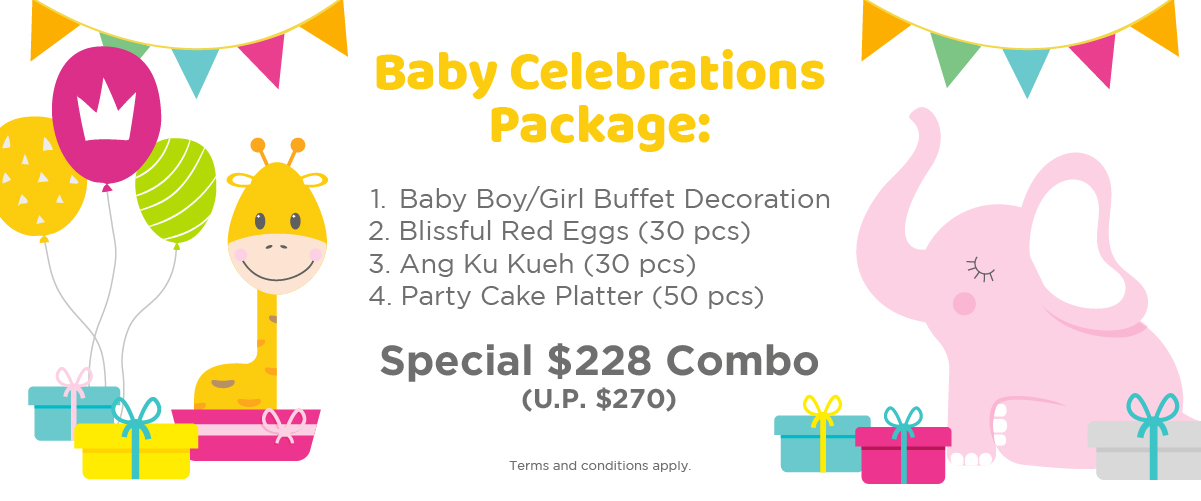 Baby Celebrations Packages Click For Details